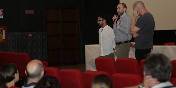 """Foto della Presentazione """"Dio delle Zecche"""" a Palermo, 27 giugno 2014"""
